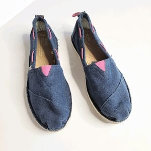 Toms Blue Shoes